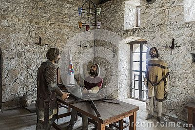 Inside the museum in the Castle in Kyrenia, Northern Cyprus.