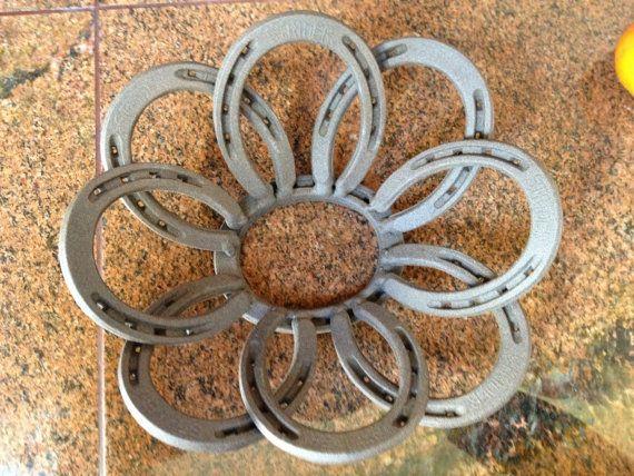 Decorative Horseshoe Fruit Bowl By Crazybullcreation On
