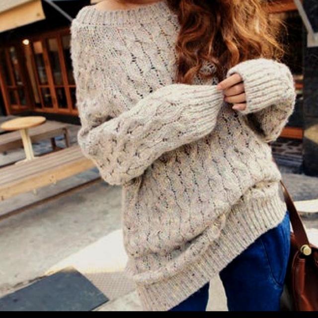 Oversized SweaterBig Sweaters, Fashion, Baggy Sweaters, Comfy Sweaters, Chunky Sweaters, Cable Knits Sweaters, Oversized Sweaters, Cozy Sweaters, Chunky Knits