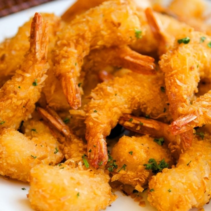 A recipe for Panko Shrimp, delicious crunchy coated fried prawns.. Panko Shrimp Recipe from Grandmothers Kitchen.