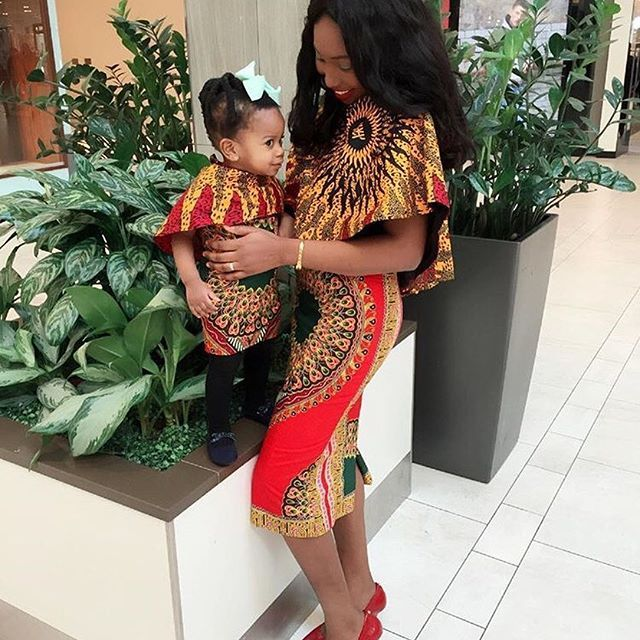 Mother and Daughter Rock Ankara Gown Styles - DeZango Fashion Zone