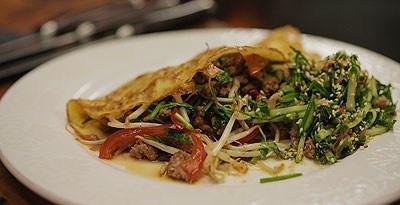 Pork Mince Omelette