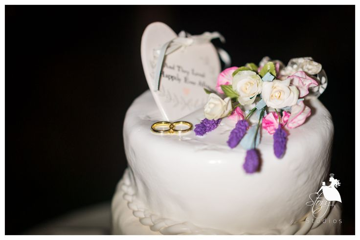 Cute wedding topper!