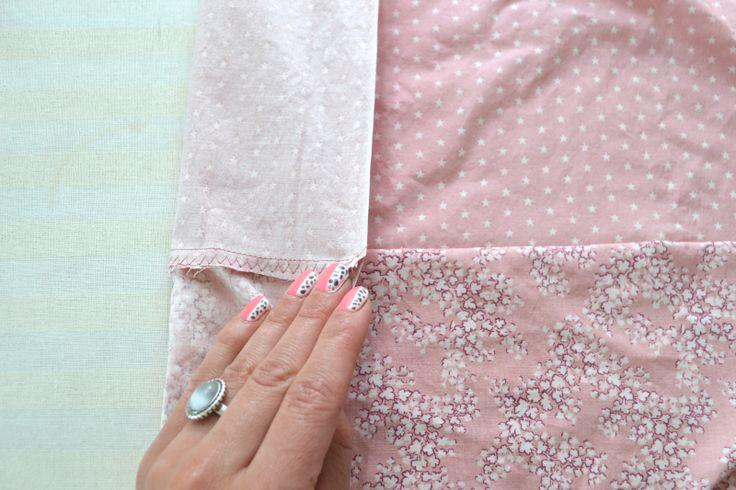 Sy sengetøy - speiltvillingene