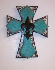 I love crosses!: Colors Patterns, Color Patterns, Collection Crosses, Beautiful Crosses, Zebras Teal Fdl Crosses, Layered Crosses, Zebras Crosses, Stacking Crosses, Birthday Gifts