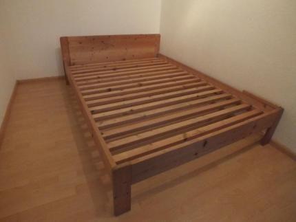 Bett massiv vom Schreiner 140 in Baden-Württemberg - Ehrenkirchen | Zu verschenken | eBay Kleinanzeigen