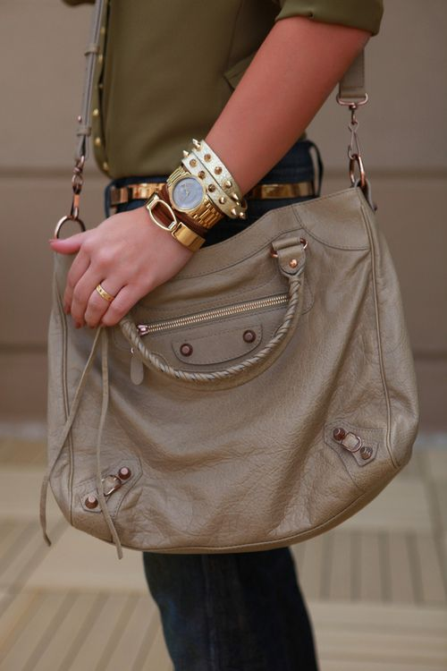 Like I need another Balenciaga bag; but I'd sure take this one!