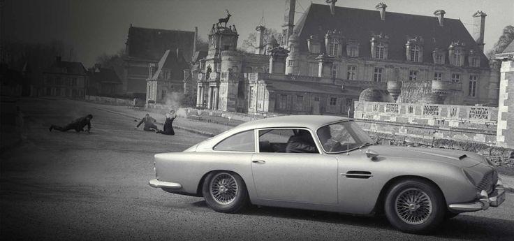 James Bond's Aston Martin DB5. Thunderball (1965).