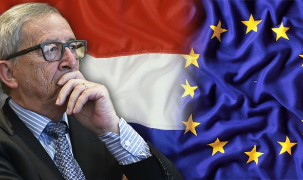DUTCH voters have demanded their own in/out referendum on EU membership amid fears in Brussels the whole 28-country bloc is under threat.