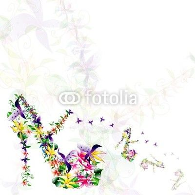 Spring Flora Shoes