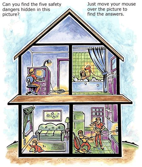 Don T Forget To Teach Home Safety Ae Kids Indoor Electric Safety House