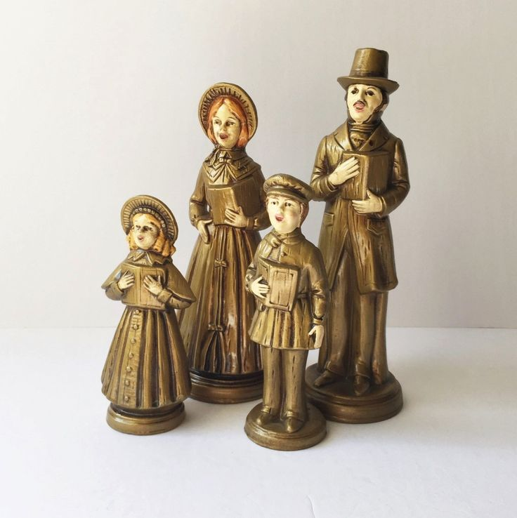 Victorian Christmas Carolers Figurines: 1000+ Images About It's Christmas! On Pinterest