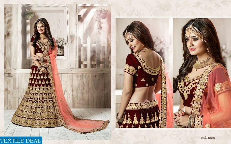 Shop Now Tarrah Riwaj Vol 4 Bridal Lehenga Choli Catalog Collection at Affordable Cost #TextileDeal #BridalCollection #LehengaCholi #bridallehenga