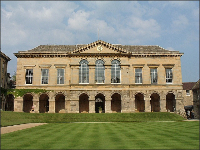 Worcester College, Oxford stole my heart