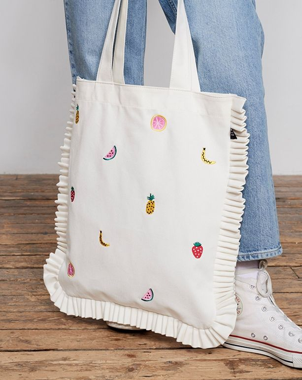 Lazy Oaf Fruit Salad Tote Bag – Accessories – New In – Womens
