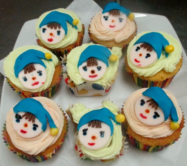 "Cupcakes do Noddy @ ""A Teaspoonful of Cupcake"""