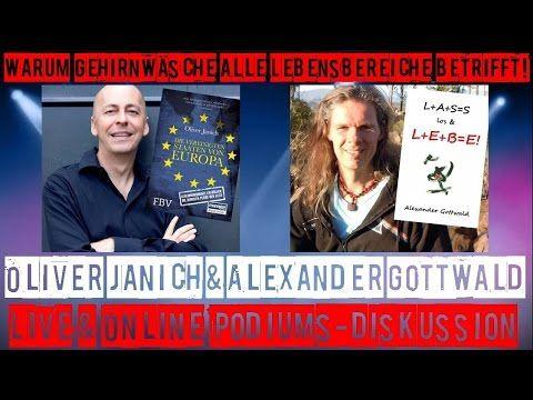 Oliver Janich & Alexander Gottwald LIVE – die okkulten Wurzeln der NWO – Freiheit spirituell & politisch