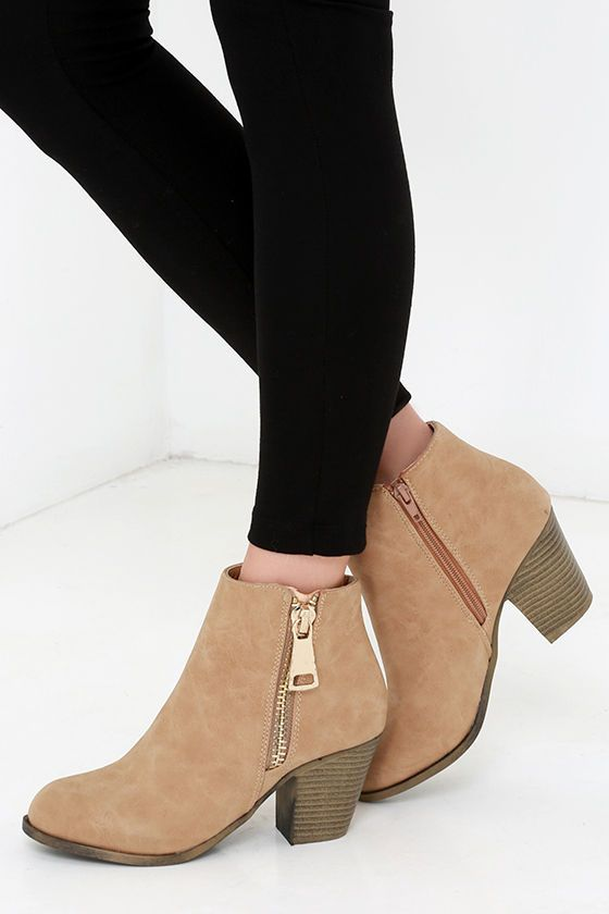 17 best ideas about Beige Ankle Boots on Pinterest | Ankle boots ...
