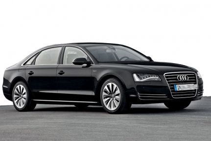 Hire your favourite European Audi A8 for any service.
