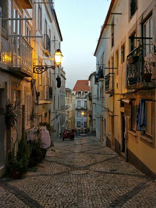 Städtereise Lissabon Abendstimmung