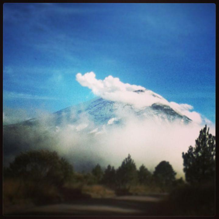 Volcán Popocatepetl