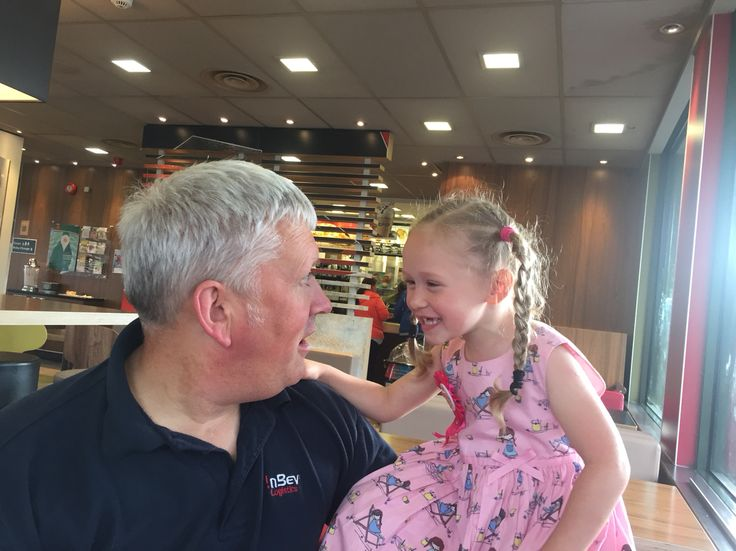 Granddad & LaCie in her 4th Birthday x