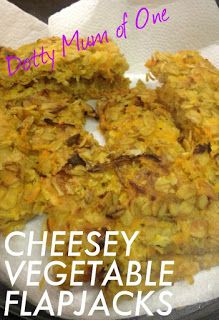 The Adventures of a Dotty Mum: Cheesey Vegtable Flapjacks