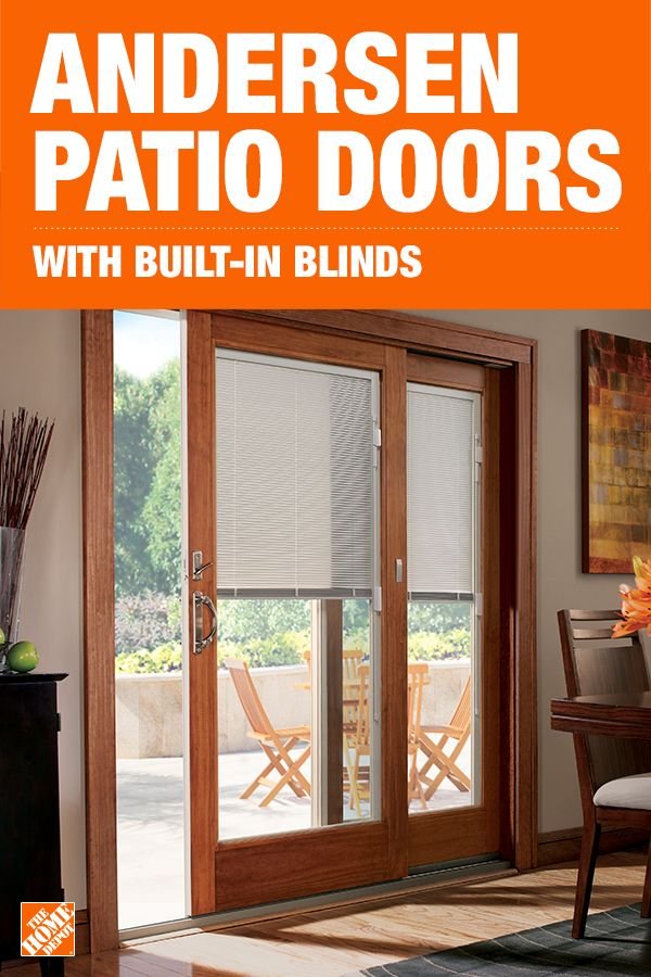 Add Privacy And Convenience To Your Home With Andersen Gliding Patio Doors Featuring Built In Blinds Prot Patio Doors Andersen Patio Doors Sliding Patio Doors