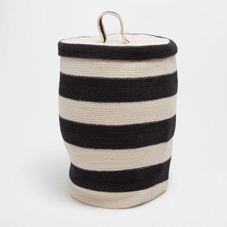 Vyobrazení 1 produktu Koš na prádlo s klikatým vzorem