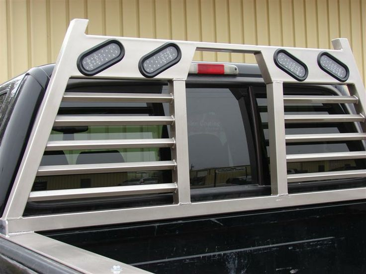 Truck Accessories from ACIW :: Headache Racks and Powder Coating by ACIW :: San Angelo, Texas