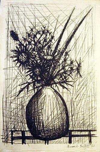 Bernard Buffet Lithographs   Bernard Buffet: Les Chardons, 1952 - Lithograph