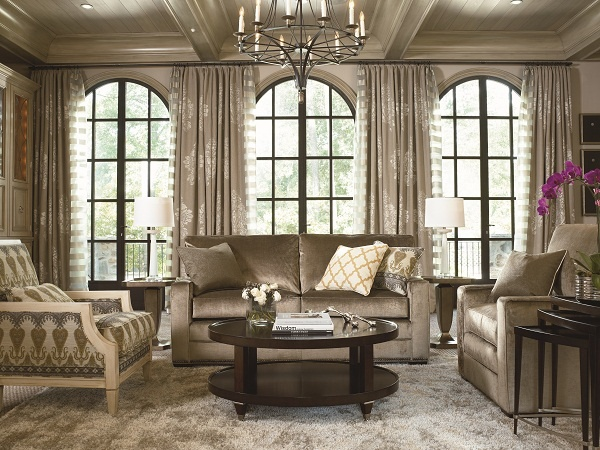 Simple Choices 2 Seat Sofa Excelsior Chair And Spellbound Occasional Tables From Thomasville