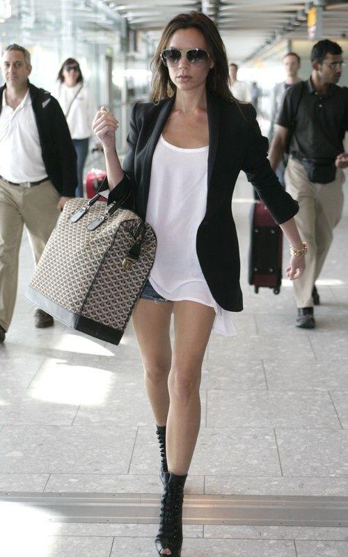 Victoria Beckham Summer Street Style Celebrities Pinterest Black Blazers Casual And Blazers
