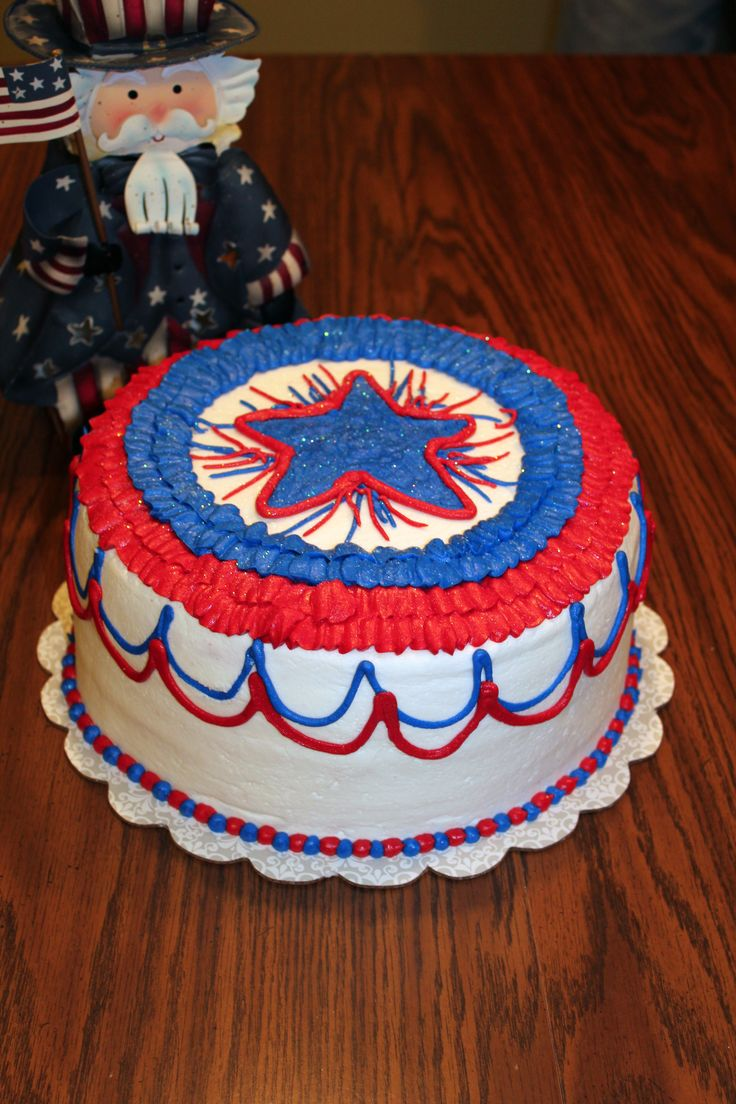 fourth of july cookie jar