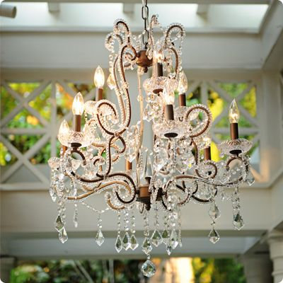 Ooh! Events Rentals Vintage Crystal & Bronze Chandelier $250 ...