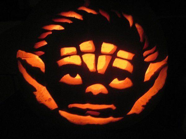 star wars yoda star wars halloweenhalloween pumpkinspumpkin carving patternspumpkin - Star Wars Halloween Pumpkin Carving Patterns