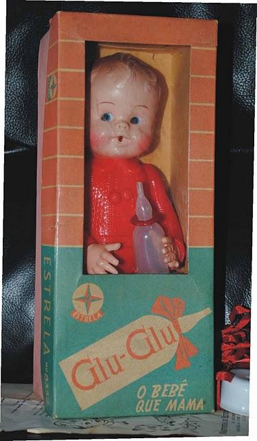Glu-Glu o Bebê que Mama  Brinquedo Estrela anos 70 e 80