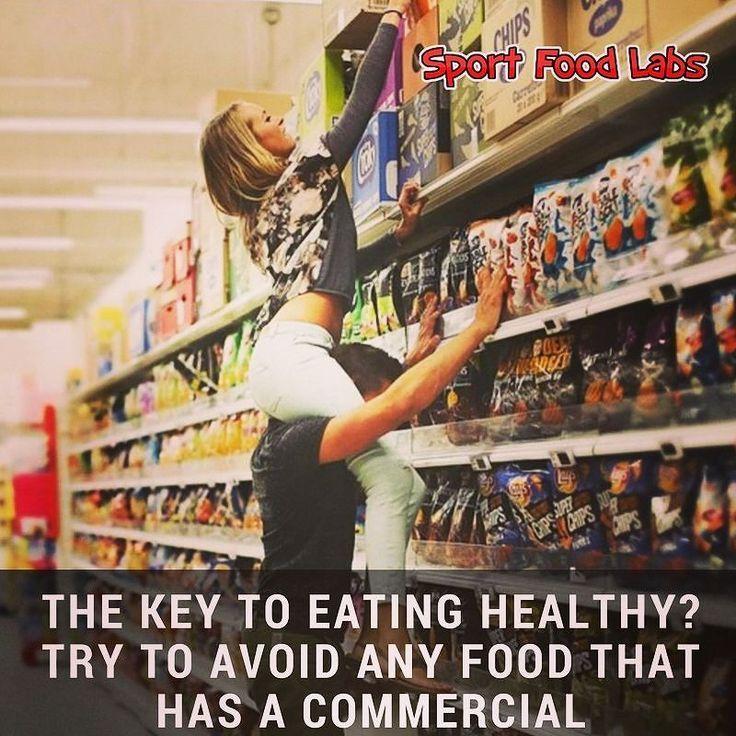 The Key To Eating Healthy? Try To Avoid Any Food That Has A Commercial!    Il Segreto per Mangiare Salutare? Cercare di Evitare Ogni Cibo Che Abbia una Pubblicità!      Follow Us @sportfoodlabs    Seguici @sportfoodlabs    Our Tags: #SportFoodLabs #Fuscle #FuscleTeam