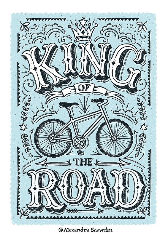 King of the Road Illustration