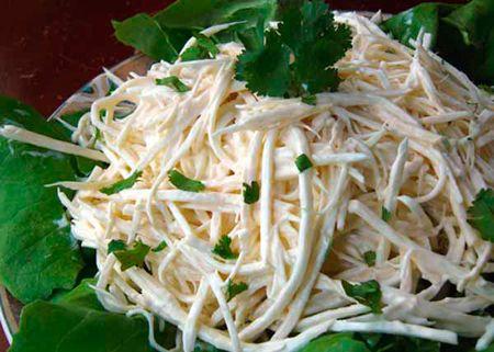 Салат из корня сельдерея - Подборка интересных кулинарных рецептов