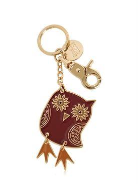 Chloé Key Chain for Women, Key Ring, Gold, Enamel, 2017, One size
