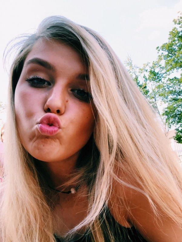 beautiful teen girl solo