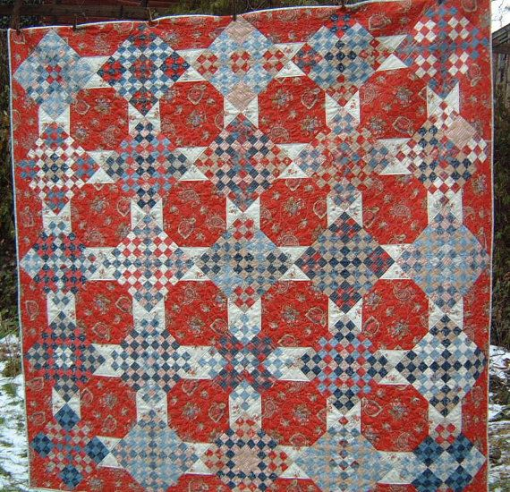 Chippewa Nine Patch Quilt Pattern Minick and Simpson