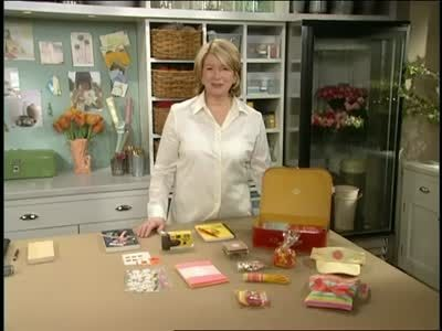 Care Package for a Young Girl Videos | Crafts How to's and ideas | Martha Stewart