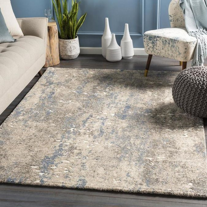 Surya Tuscany 12 X 15 Beige Indoor Abstract Vintage Area Rug Lowes Com In 2020 Vintage Area Rugs Area Rugs Square Area Rugs