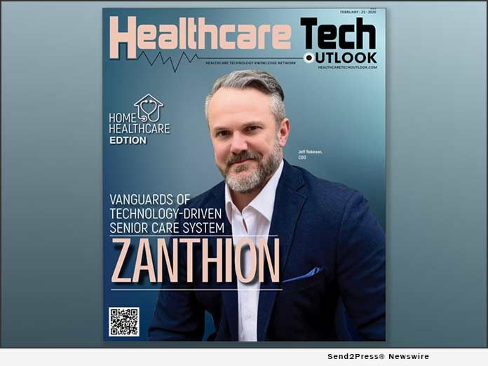 Zanthion Named Top 10 Home Healthcare Solution Provider For 2020 Health Care Healthcare Companies Post Acute Care