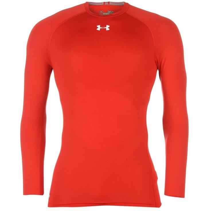 Under armour under armour heat gear core long sleeve tee for Under armour dri fit long sleeve shirts