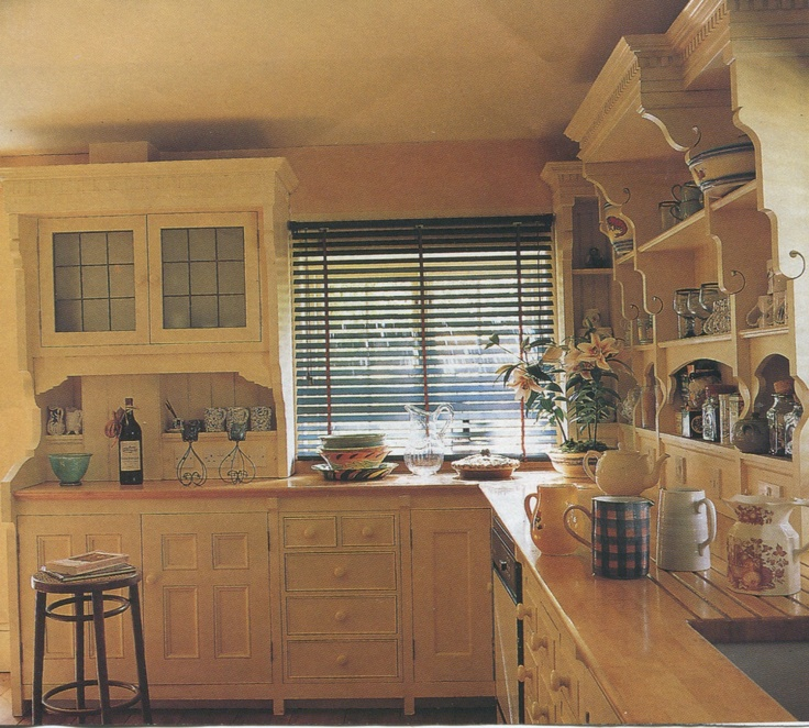 English Cottage Kitchen Designs: English Country Cottage Kitchen From Traditional Home