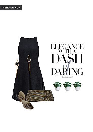 elegence witj a dash of daring#Print it#on LimeRoad Shopping App! You'll love the look. See it here https://www.limeroad.com/scrap