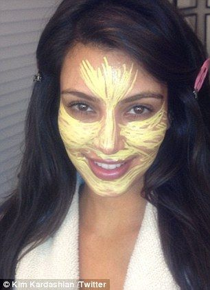 Kim Kardashian shares the secret to her flawless complexion... bright yellow primer